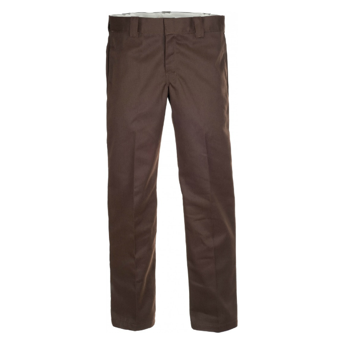 Dickies-873-Slim-Straight-Work-Pants-Brown