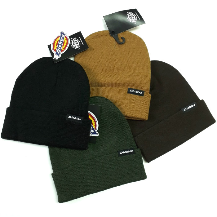 Dickies-Alaska-Cuff-Beanie-Hat-Various-Colours