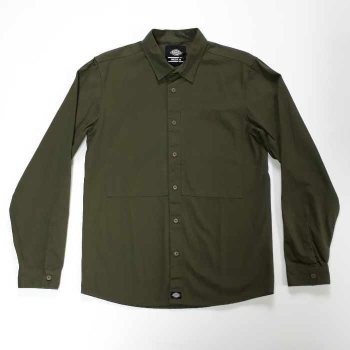 Dickies - Avella - Long Sleeve Shirt - Dark Olive