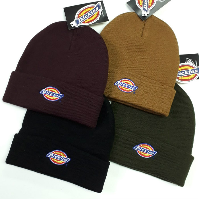 Dickies-Colfax-Cuff-Beanie-Hat-Various-Colours