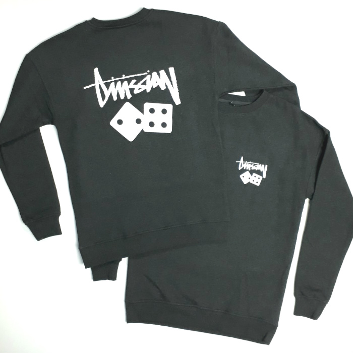 Division 24 Skate Store - Gamble - Pullover Crew Jumper - Charcoal Grey