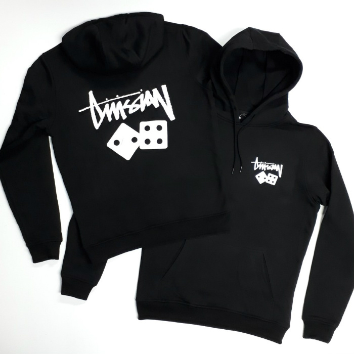 Division 24 Skate Store - Gamble - Pullover Hooded Sweatshirt - Black