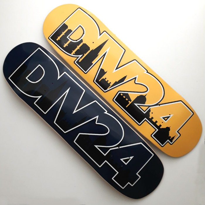 Division 24 Skate Store - Home Sweet Home II - Shaped Skateboard Deck - 8.625