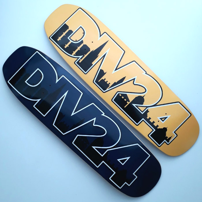 Division 24 Skate Store - Home Sweet Home II - Shaped Skateboard Deck - 9.00