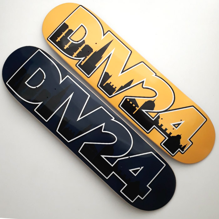 Division 24 Skate Store - Home Sweet Home II - Skateboard Deck - Various Sizes