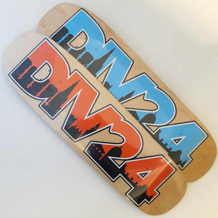 Division 24 Skate Store - Home Sweet Home - Shaped Skateboard Deck - 9.00