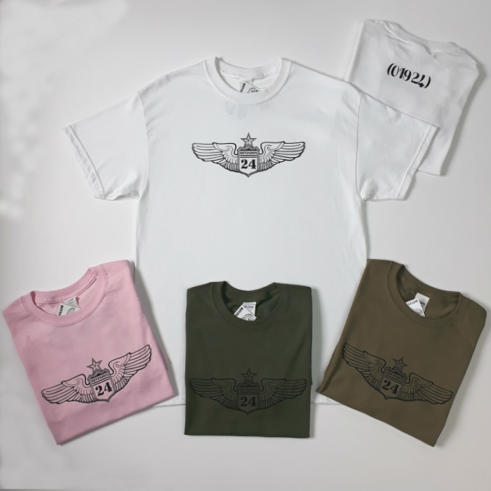 Division 24 Skate Store - OG Wings Logo T-Shirt - Various Colours