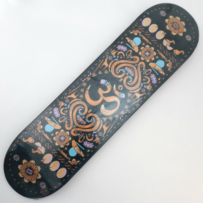 Drawing Boards - OM - Skateboard Deck 8.25
