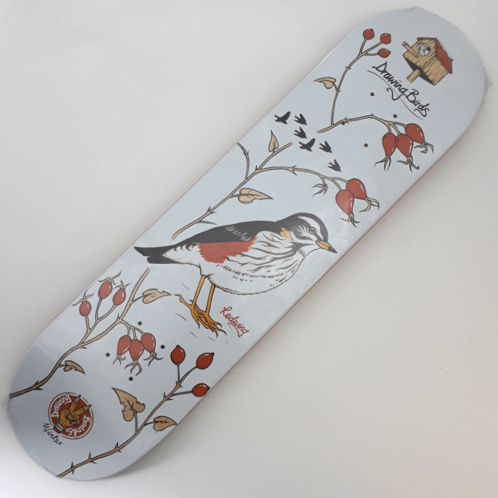 Drawing Boards - Redwing - Skateboard Deck 8.00
