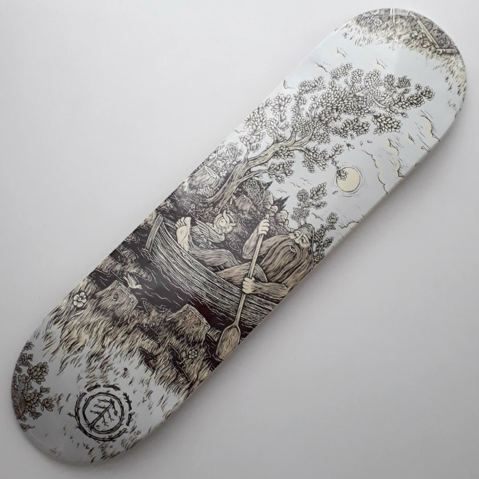Element Skateboards - Timber - Too Late Keeper - Skateboard Deck 8.25