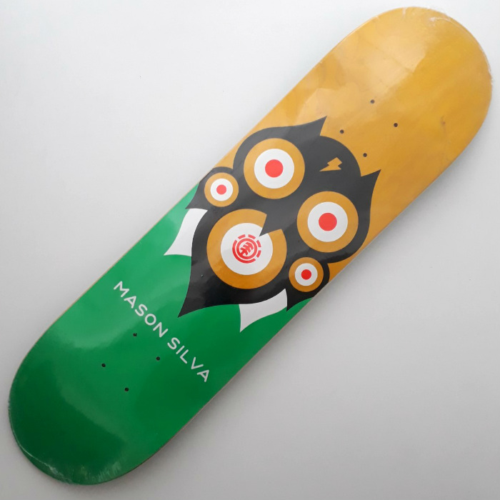 Element Skateboards - Wisdom Mason Silva - Skateboard Deck 8.25