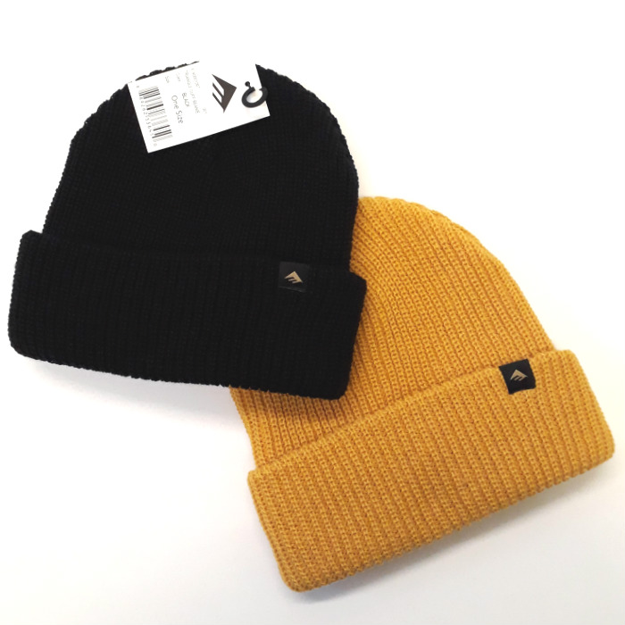 Emerica - Triangle - Cuff Beanie Hat - Black / Gold
