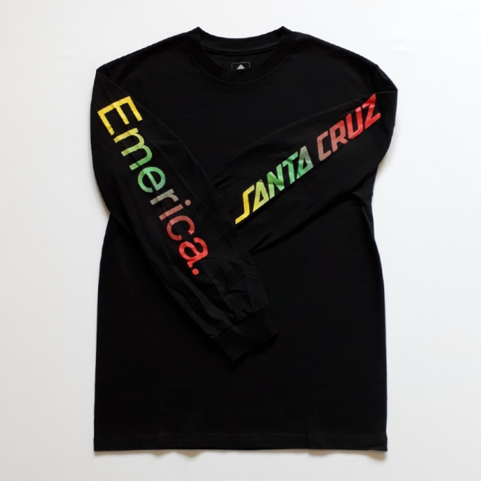Emerica-x-Santa-Cruz-Skateboards-Logo-Drop-Long-Sleeve-T-Shirt-Black-A