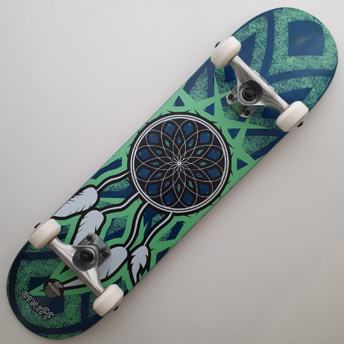 Enuff Skateboards - Dreamcatcher - Complete Skateboard 7.75 - Blue/Teal