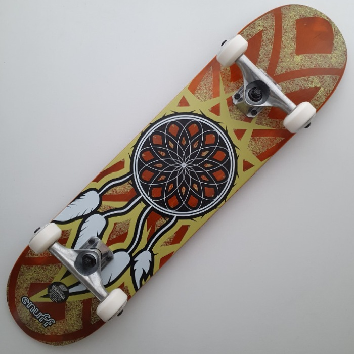 Enuff Skateboards - Dreamcatcher - Complete Skateboard 7.75 - Orange/Yellow