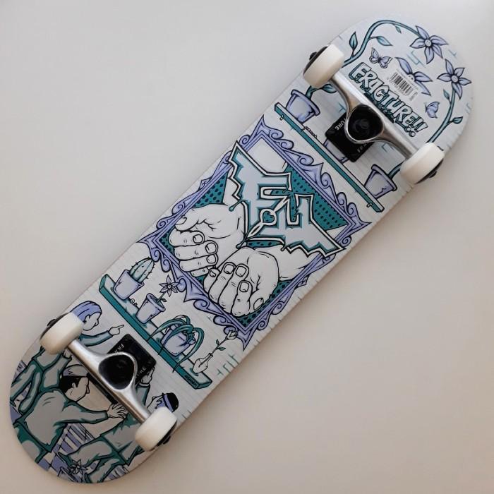 Fracture Adswarm Complete Skateboard