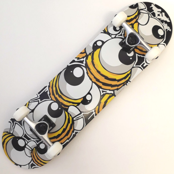 Fracture Skateboards x CHEO - Bee - Complete Skateboard 8.00