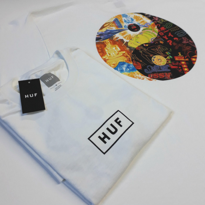 HUF-Worldwide-Dharma-T-Shirt-White-B