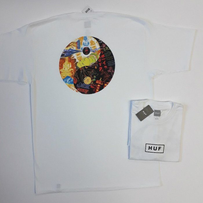 HUF-Worldwide-Dharma-T-Shirt-White
