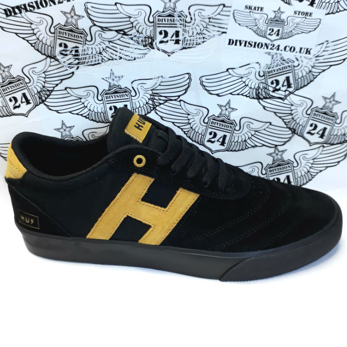 HUF Worldwide - Galaxy Shoes - Black/Black