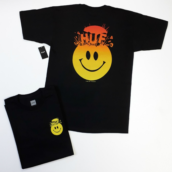 HUF Worldwide - Mind Blown T-Shirt - Black