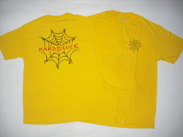 Hard Luck Andy Roy Spider Web T-Shirt