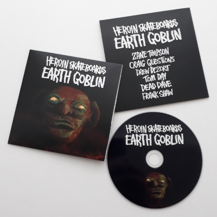 Heroin Skateboards - EARTH GOBLIN - DVD