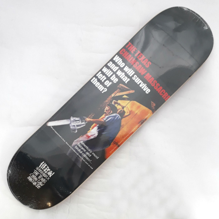 Heroin Skateboards - The Texas Chainsaw Massacre - Skateboard Deck 8.25