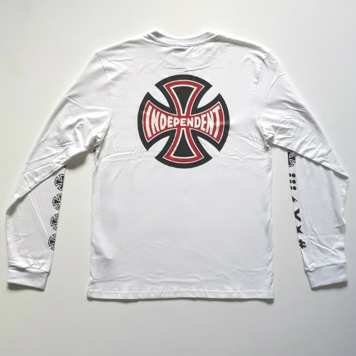 Independent Trucks - Ante - Long Sleeved T-Shirt - White