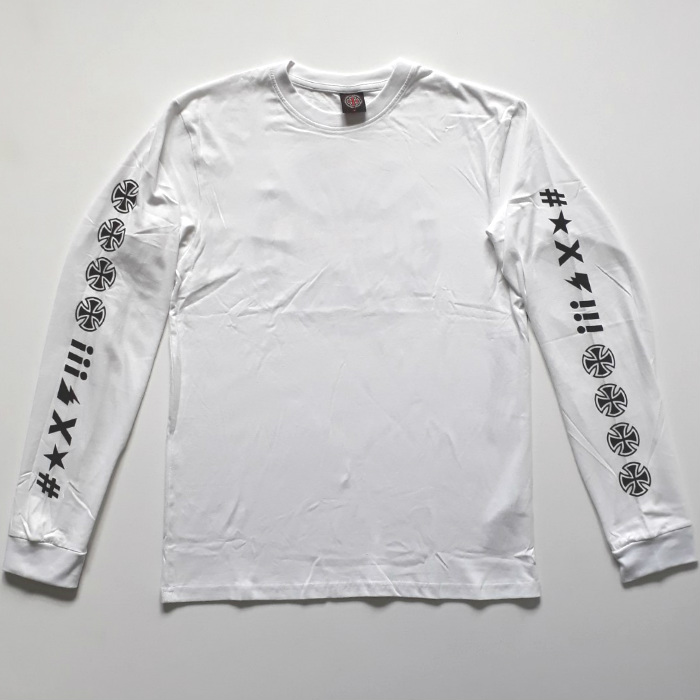 Independent-Trucks-Ante-Long-Sleeve-T-Shirt-White