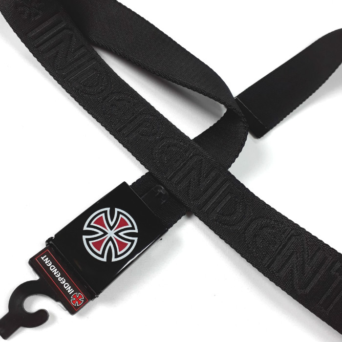 Independent Trucks - Bar Cross - Web Belt - Black