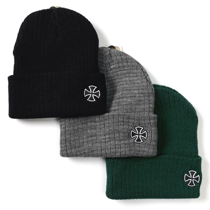 Independent Trucks - Cross Ribbed - Cuff Beanie Hat - Various Colours
