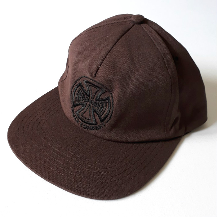 Independent-Trucks-Embroidery-Cap-Chocolate