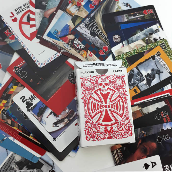 Independent Trucks - Hold Em Playing Cards