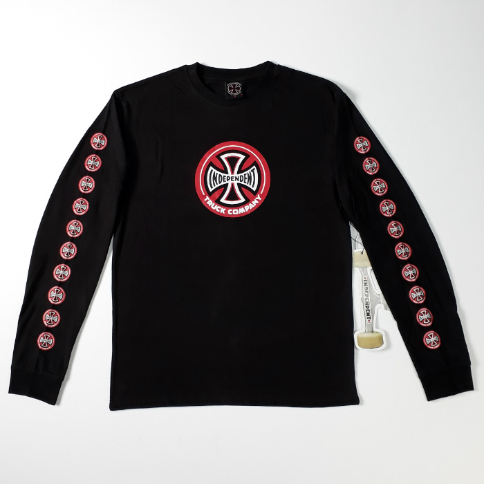 Independent Trucks - Hollow Cross - Long Sleeved T-Shirt - Black
