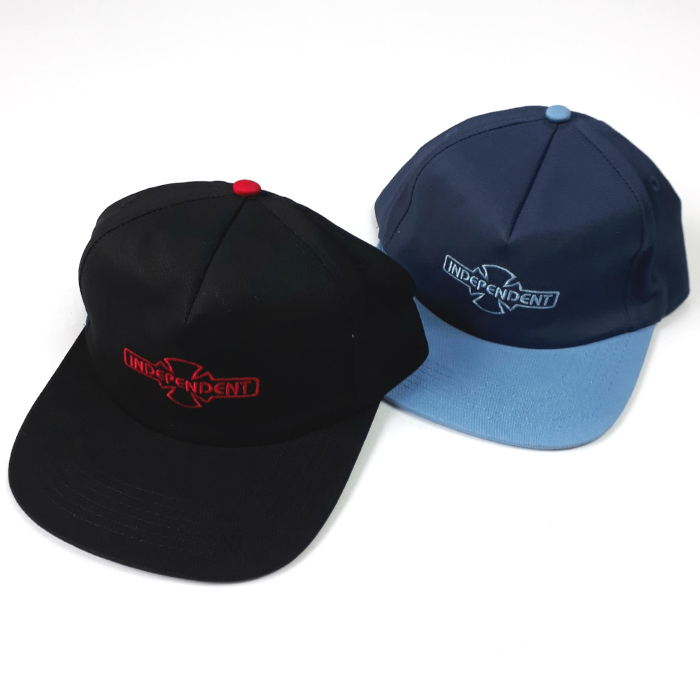 Independent Trucks - OGBC - Cap - Black and Navy/Carolina Blue