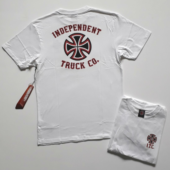 Independent-Trucks-Pennant-T-Shirt-White