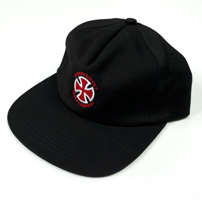 Independent Trucks - Stage - Unstuctured Cap - Black