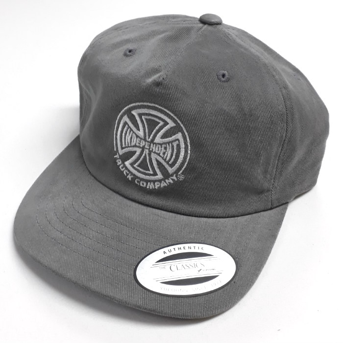 Independent Trucks - TC Unstructured Cap - Cool Grey
