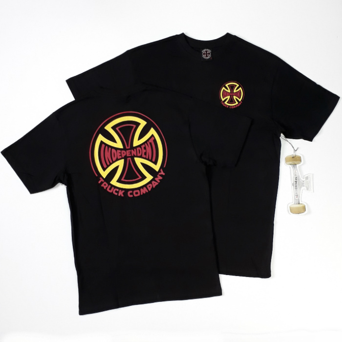 Independent Trucks - Two Tone T-Shirt - Black