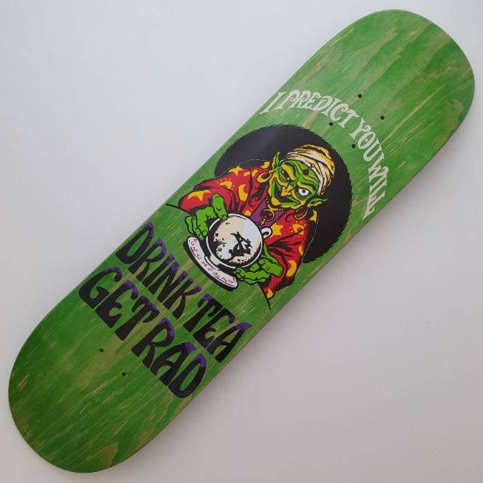 Lovenskate - Drink Tea, Get Rad - Skateboard Deck 8.00 / 8.25
