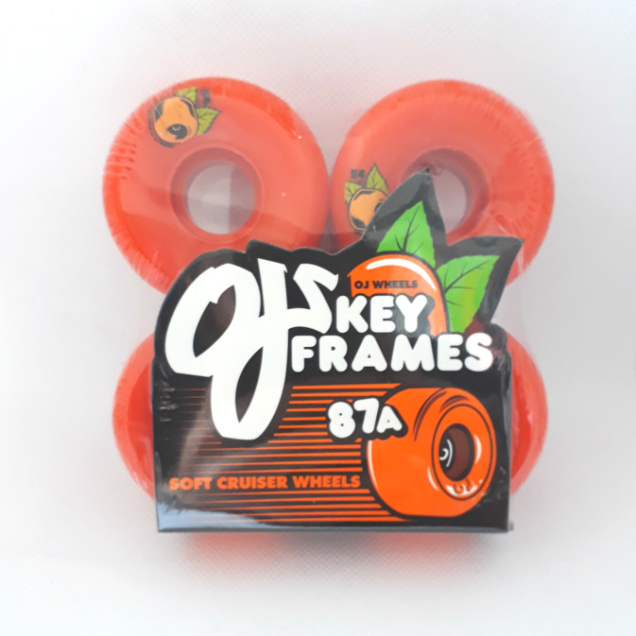 OJ Wheels - Keyframe - Skateboard Wheels 54mm / 87a - Orange