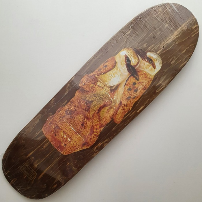 Passport Skateboards - Kookaburra Spade - Shaped Skateboard Deck 9.1