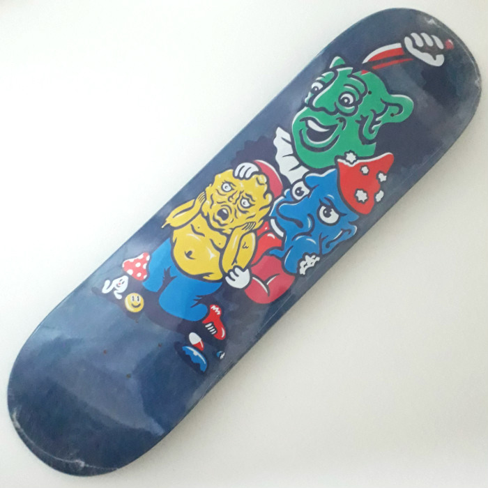 Polar Skate Co - Paul Grund - Meltdown - Skateboard Deck 8.375