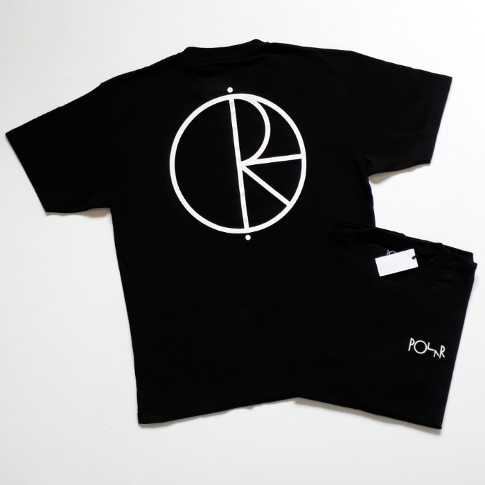 Polar Skate Co - Stroke Logo T-Shirt - Black