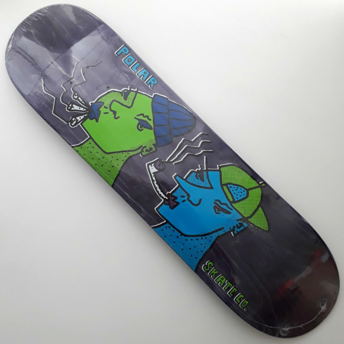 Polar Skate Co - Team Smoking Heads - Skateboard Deck 8.25