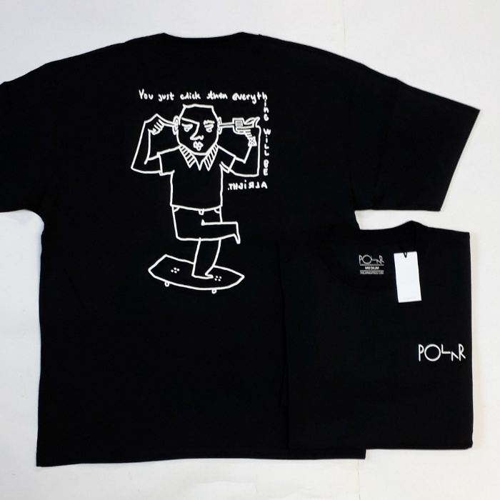 Polar Skate Co - Click T-Shirt - Black