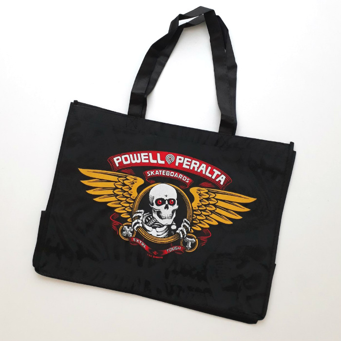Powell-Peralta - Winged Ripper - Shopping Bag - Black