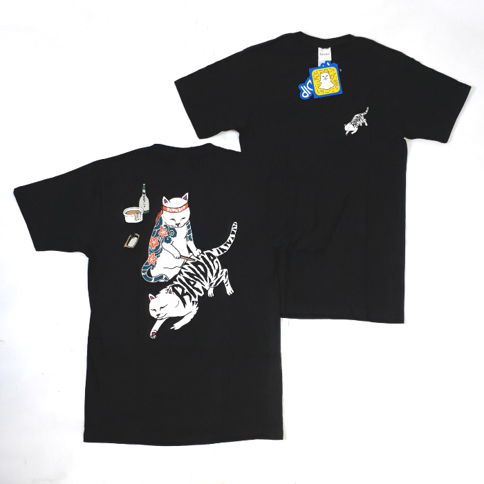 RIPNDIP - Tattoo Nermal T-Shirt - Black