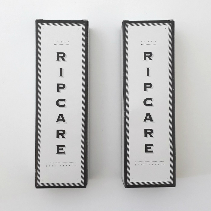 RIPCARE - Shoe Repair Glue - Black and Clear